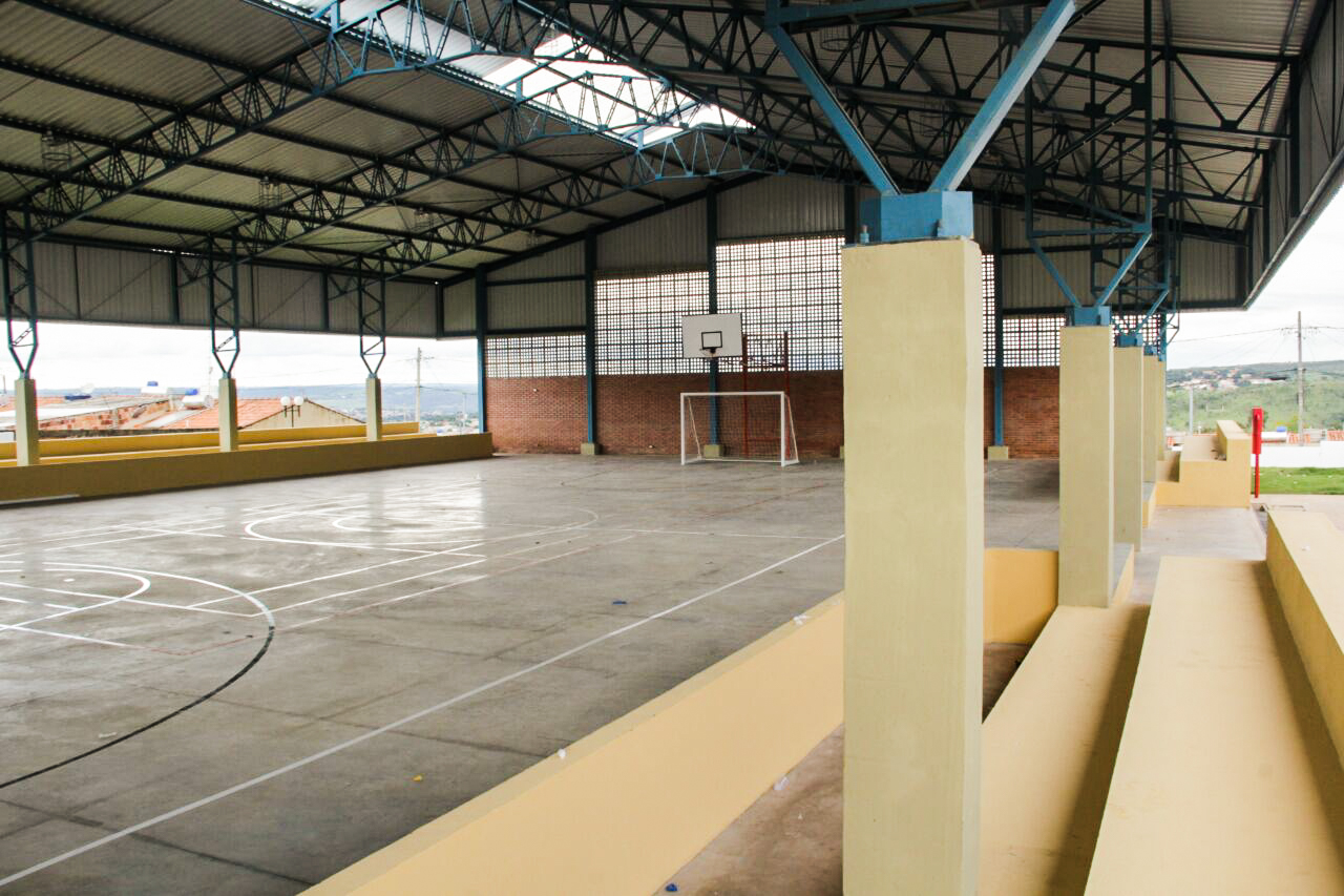 Escola Padrão do Século XXI - Parque Estrela D'Alva XVI - Santo Antônio do Descoberto