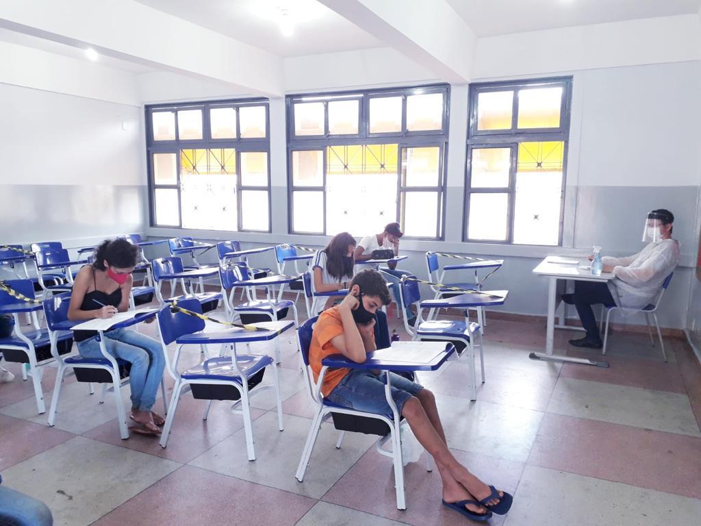 Avaliação diagnóstica da rede estadual de ensino de Goiás na regional de Rio Verde