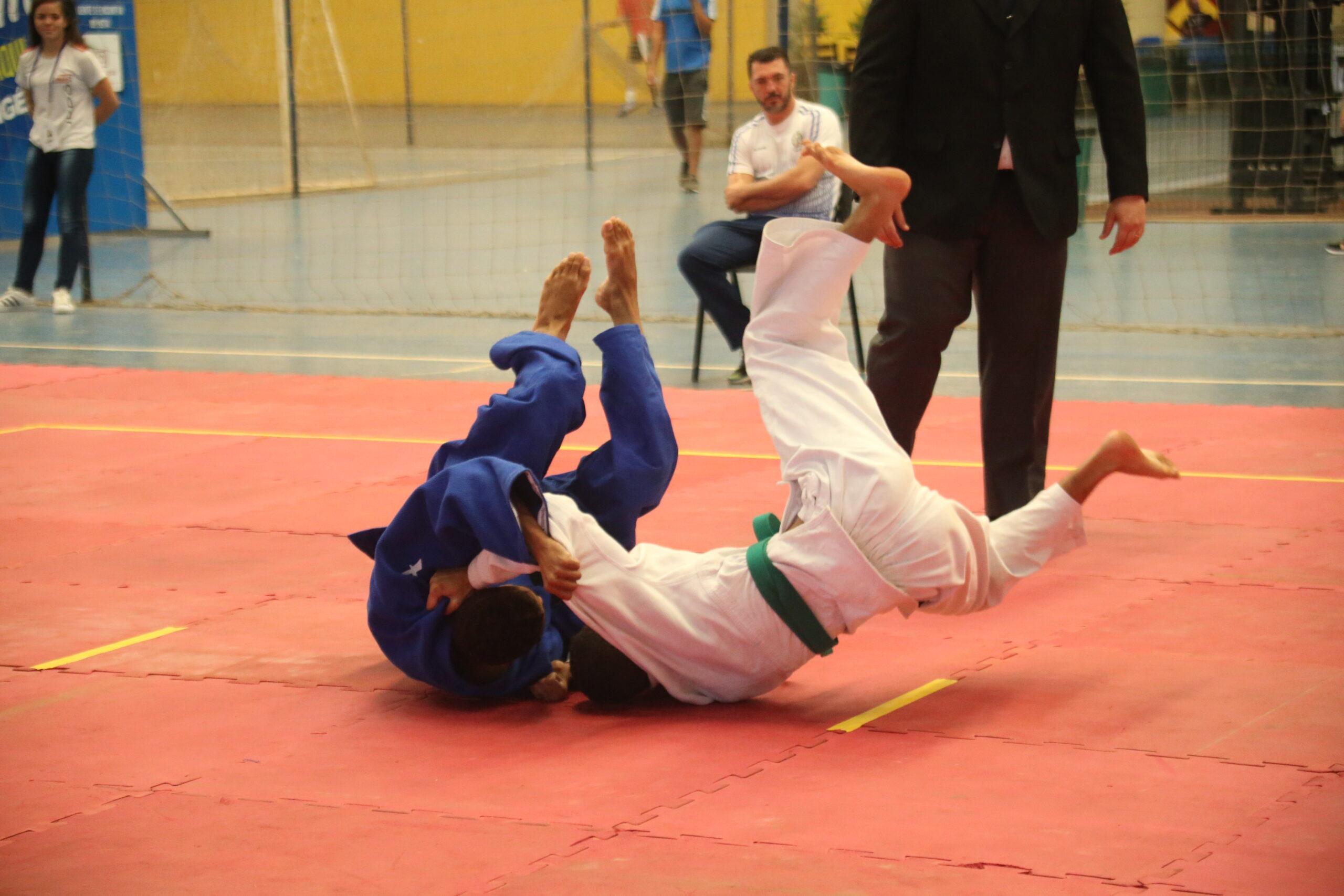 Jogos Estudantis de Goiás 2019 - judô