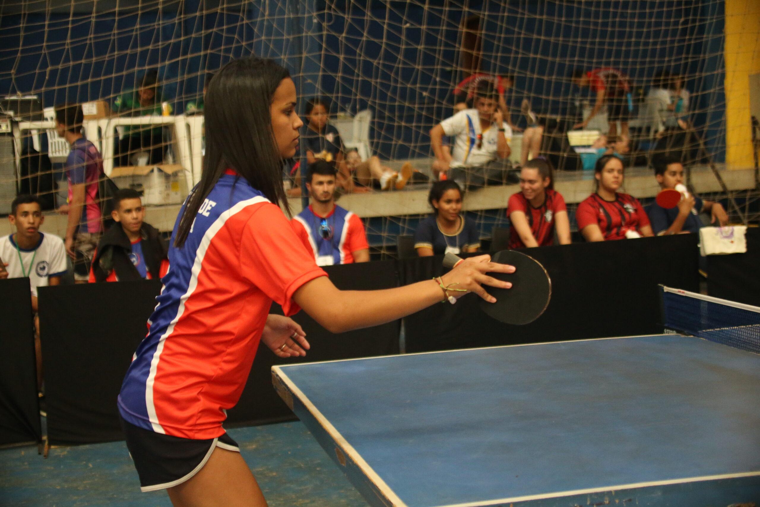 Jogos Estudantis de Goiás 2019 - tênis de mesa