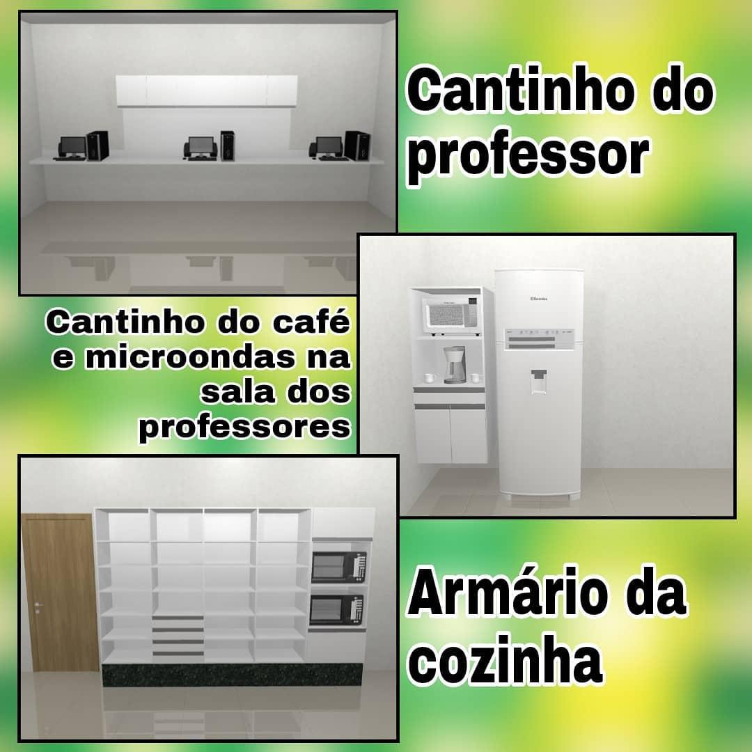Para melhorar a infraestrutura da sala de professores, Colégio Estadual Marenchal Rondon vai comprar computadores, microondas e cafeteira