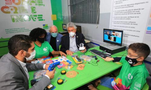 Laboratório de Robótica do Cepi Cepi Joaquim Edson de Camargo