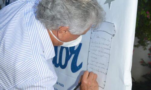 Governador de Goiás visita Escola Estadual Joaquim da Silva Moreira, em Itapuranga