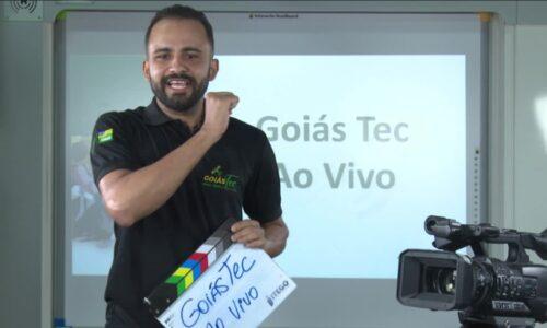 Programa GoiásTec transmite aulas ao vivo no Youtube
